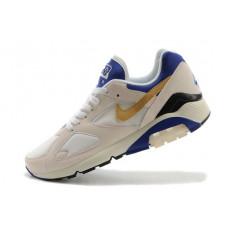 Nike air max 180 бежевый с синим